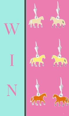 Enter the Your Gift Horse contest to win a a pair of pony earrings each day in March