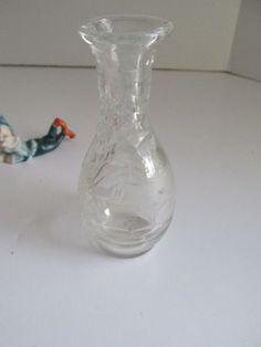 Victorian Glass Oil Cruet Vinegar Cruet by ReVintageLannie on Etsy