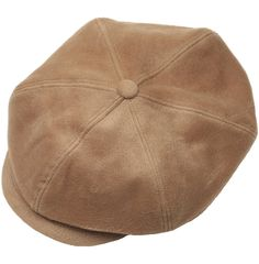 N243 Wool BakerBoy 6 Panel Newsboy Cap Cabbie Flat Golf Gatsby Driving Hat  - Brown - C8126OGXGUB 846ed7026f44