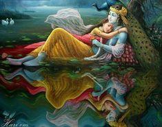 Radha and Krishna- The eternal lovers Krishna Leela, Baby Krishna, Radha Krishna Pictures, Lord Krishna Images, Radha Krishna Love, Radhe Krishna, Radha Rani, Shree Krishna Wallpapers, Radha Krishna Wallpaper