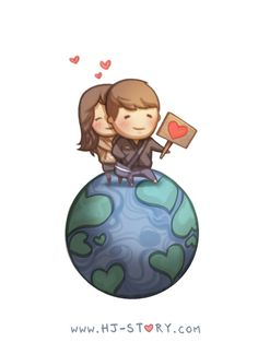 We can conquer the world like heroes <3