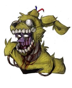 Springtrap by BlasticHeart on @DeviantArt