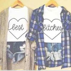 Cute outfits for best friends