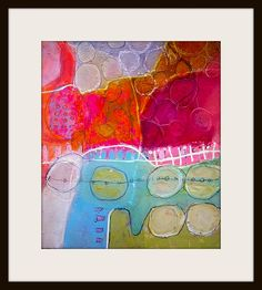 Elke Trittel 2013 #colorful #abstract #art