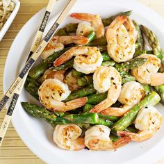 This quick and easy Shrimp and Asparagus Stir Fry with Lemon Sauce recipe is full of amazing flavor — and it's good for you too! Disclosure: This post uses compensated affiliate links to products we love & use. I can't believe this Autumn and Winter loving gal is going to say this, but I am …