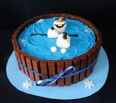 ❄️ Fiesta de Cumpleaños Frozen ⛄ Ideas Originales Best Picture For Birthday Cake baby For Your Taste You are looking for something, and it is going to tell you exactly what you are looking for, a Cake Cookies, Cupcake Cakes, Pastel Frozen, Olaf Cake, Frozen Birthday Cake, Disney Cakes, Novelty Cakes, Cute Cakes, Creative Cakes