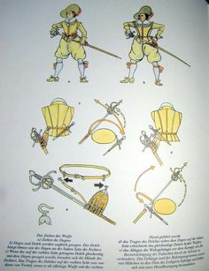 How to unsheath dagger and rapier.