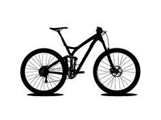 G Tattoo, Mountain Biking, Silhouettes, Bicycle, Party, Bicycle Tattoo, Bicycles, Bike, Bicycle Kick
