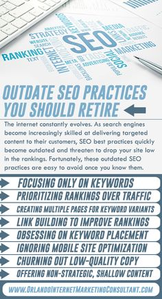The internet constantly evolves. As search engines become increasingly skilled at delivering targeted content to their customers, SEO best practices quickly bec(. Social Media Digital Marketing, Seo Strategy, Digital Trends, Search Engine, Internet Marketing, Infographics, Retirement, Supreme, Advertising