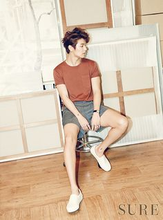 More Of CNBLUE's Kang Min Hyuk For SURE's June 2015 Issue | Couch Kimchi