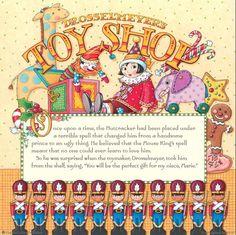 The Nutcracker Book – Mary Engelbreit Christmas Books, Diy Christmas Ornaments, Mary Christmas, Handsome Prince, Antique Perfume Bottles, Up Book, Mary Engelbreit, Christmas Drawing, The Night Before Christmas