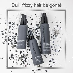 Don't let frizzy hair ruin your NYE party. The Kenra Smooth® Anti-Frizz Collection is designed to reduce frizz for softer, more manageable results!  Learn more: http://www.kenrasmooth.com/
