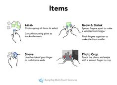 interaction design gestures - Buscar con Google