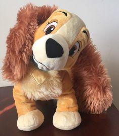Lady and The Tramp Disney Sealed Girl Cocker Spaniel Dog Plush   Toys & Hobbies, Stuffed Animals, Disney   eBay!