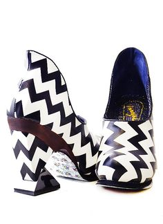 Irregular Choice Botoxic Black/White | eBay
