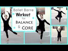 Ballet Barre Workout for Balance & Core | Kathryn Morgan