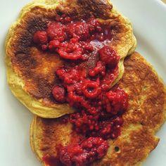 Eat clean - Stay lean: Raspberry Protein Pancakes