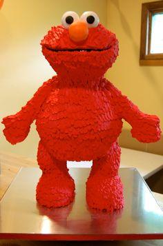 Elmo~ Free-standing character cake