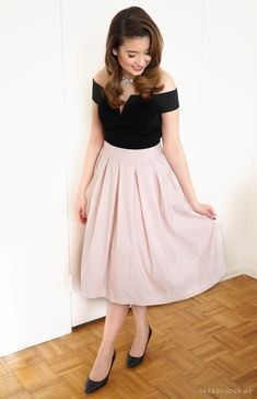 Retro 1950s Christmas Party Outfit • Sara du Jour
