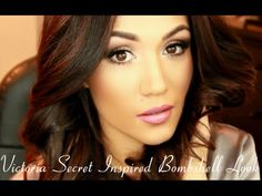 Victoria Secret Angel Bombshell Inspired Makeup and Hair