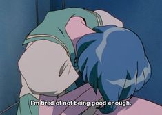 relatable screenshots from anime and manga. all posts must be titled anime_irl. Sailor Moon Aesthetic, Blue Aesthetic, Aesthetic Anime, Me Anime, Fanarts Anime, Anime Art, Anime Girls, Sailor Moon Quotes, Revolutionary Girl Utena
