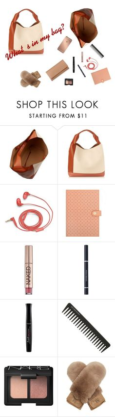 """What's in my bag?"" by raluk31 on Polyvore featuring Marni, Mura, FOSSIL, Urban Decay, Christian Dior, Bourjois, GHD, NARS Cosmetics, MaxMara and BOSS Hugo Boss"