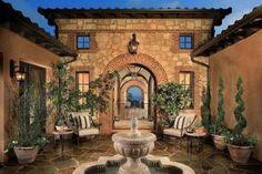 Beautiful Courtyard ༺༺  ❤ ℭƘ ༻༻