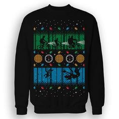 SWEATER - Stranger Things / Upside Down Christmas / Eighties / SciFi / Ugly Sweater
