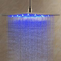 LED Rainfall Shower head! ♥*✨♡✨.☆ www.SocietyOfWomenWhoLoveShoes.org Instagram @SocietyOfWomenWhoLoveShoes Twitter @ThePowerOfShoes