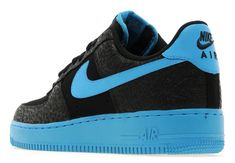 Nike Air Force 1 Low | Black & Vivid Blue