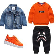The most adorable looks for newborn baby man clothes, see most of the essentials like p j's, entire body lawsuits, bibs, plus much more. Outfits Niños, Cute Baby Boy Outfits, Little Boy Outfits, Toddler Boy Outfits, Cute Baby Clothes, Toddler Boys, Kids Outfits, Baby Boy Clothes Nike, Baby Boy Nike