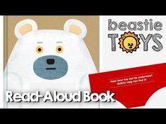 "Read-Aloud: ""Polar Bear's Underwear"" by Tupera Tupera - A Book for Kids - YouTube"
