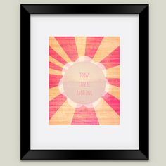 Friendly Reminder Framed Art Print by bunhuggerdesign on BoomBoomPrints