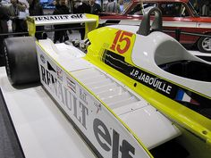 20100122 Paris Rétromobile - Renault F1 type RS10 (1979)-2 by anhndee, via Flickr