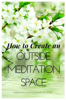 How to create an outside meditation space . - How to create an outside meditation space meditation space ba - # Meditation For Stress, Meditation Room Decor, Meditation Garden, Meditation Retreat, Meditation For Beginners, Meditation Space, Mindfullness Meditation, Yoga Garden, Sacred Garden
