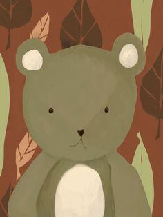 T.R. the Bear Canvas Art