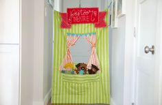 DIY Puppet Theater S