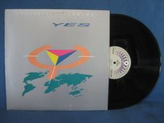 Vintage YES  9012Live The Solo's Vinyl LP Record by sweetleafvinyl, $2.99