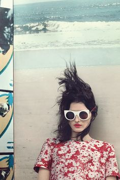 Sunglasses styles and inspiration for summer (Vogue.co.uk)
