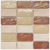 Emperia Glass Tile 1 7/8. Aubrey Flooring. Still my favorite!