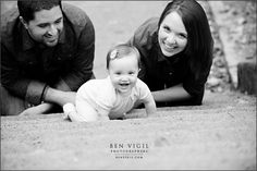 Ben Vigil Photographers » Baby Rosemary: 9-month Session