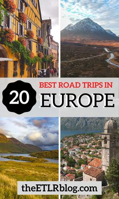 How many of these Road Trips in Europe have you ticked off your bucket list till now? #Europe #RoadTrips #Travel #BucketList | Europe Road Trips | Best Europe Road Trips | Most Scenic European Road Trips European Road Trip, European Travel Tips, Road Trip Europe, European Vacation, Europe Travel Guide, Europe Destinations, Road Trips, Europe Europe, Traveling Europe