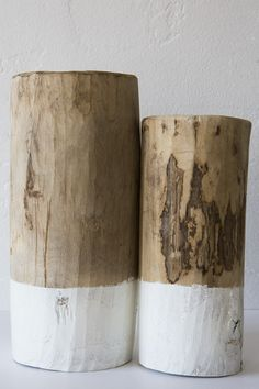 honore walnut wooden jars            - sold individually -