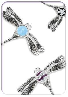 Kameleon Jewelry Dragonfly Pins available at Renaissance Fine Jewelry  www.vermontjewel.com
