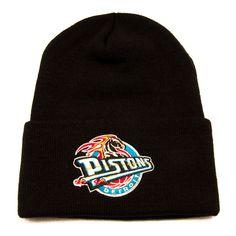 Detroit Pistons Beanie Logo Black