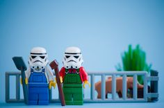 The Simple Life by kennymatic | LEGO Star Wars Stormtrooper Farmer Minifigs