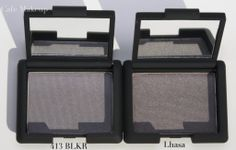 Nars 413 BLKR and Lhasa. Good dupes for the impossible to find Chanel Notorious