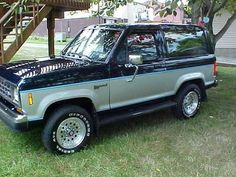 Cars for Sale: 1988 Ford Bronco II 4x4 in Cranberry Twp, PA 16066: Sport Utility Details - 327761314 - AutoTrader.com