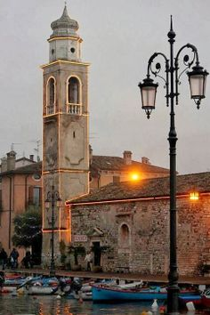 Stunning Views: Lazise - Lake Garda, Veneto, Italy, Province of Verona...
