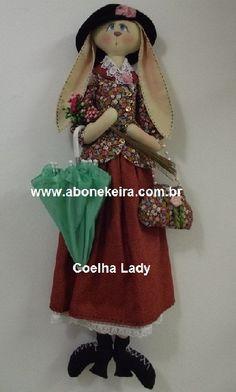 Coelha Lady  de A Bonekeira